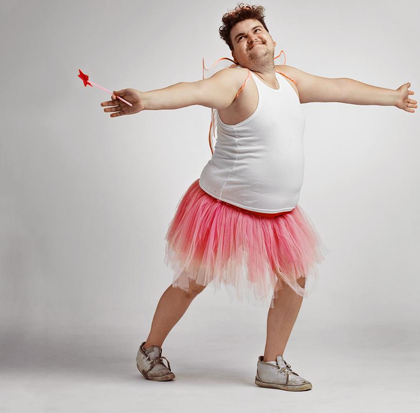 Le danseur de La Boite à Selfies