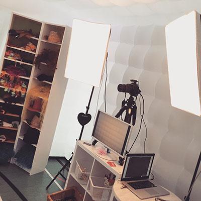 Studio Gonflable 1 - Intérieur - La Boite à Selfies